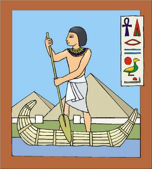 Clipart nile river vector download Nile River Goddess Plan Pr Ntr Kmt vector download