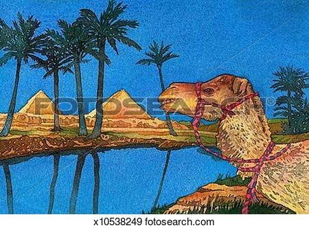 Clipartfox illustration. Clipart nile river