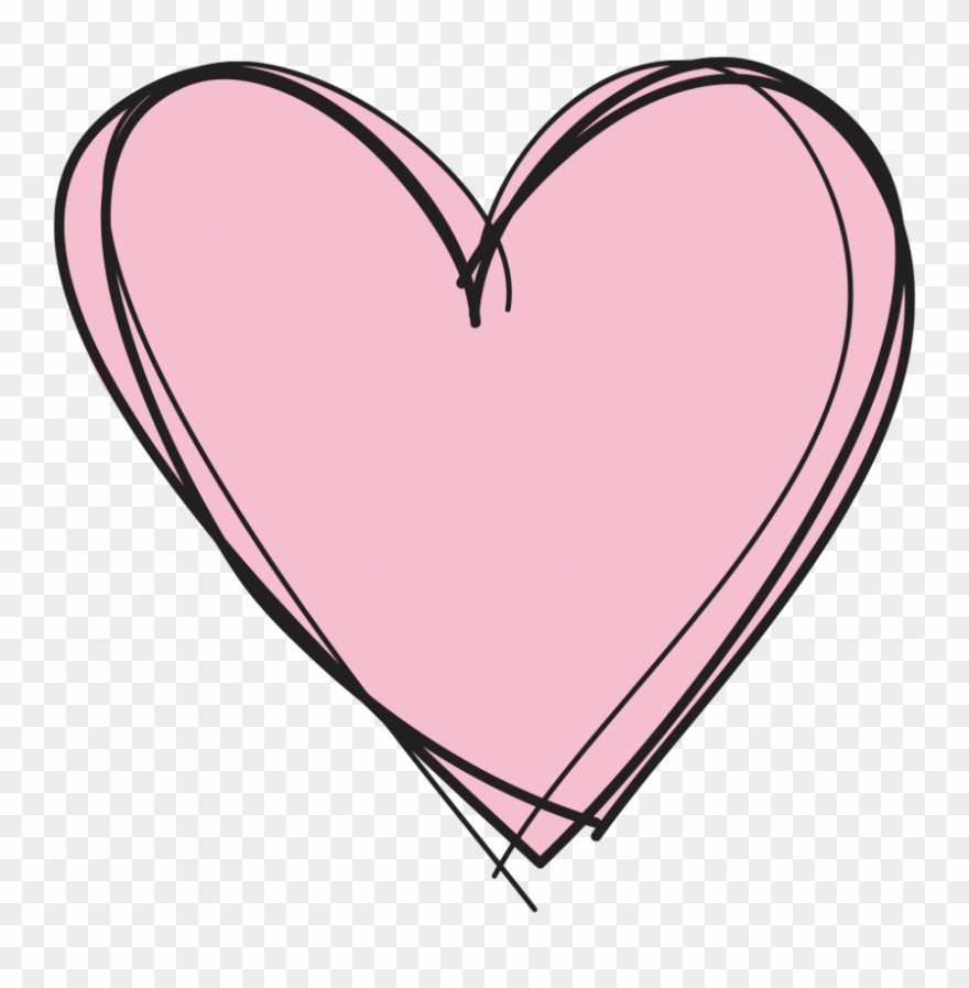 Clipart no background png black and white download Pink Heart Clipart No Background - Heart Clipart Transparent ... png black and white download