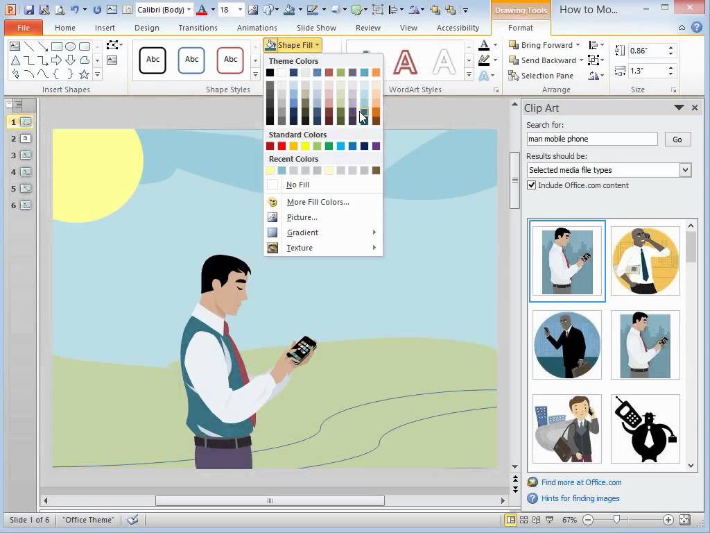 Powerpoint 2013 clipart location jpg library library Microsoft PowerPoint 2013 - How To Modify #229637 - Clipartimage.com jpg library library