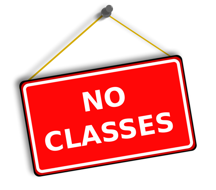 School signs clipart clip freeuse stock No classes at the Yorkminster Park location on Monday Oct. 23 and ... clip freeuse stock