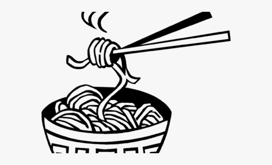Clipart noodles clipart royalty free library China Clipart Chinese Noodle - Chinese Noodles Black And White ... clipart royalty free library