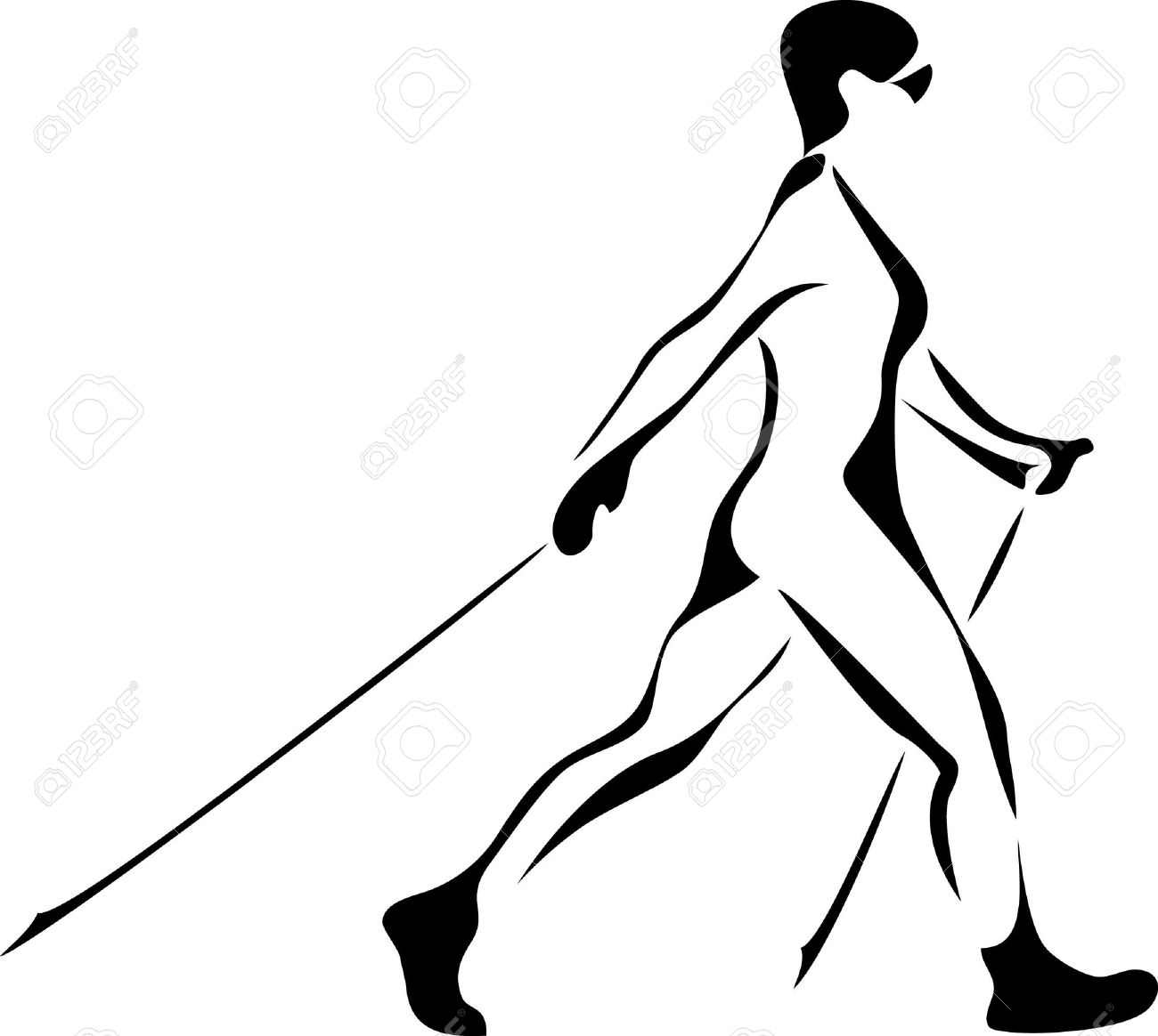 Clipart nordic walking kostenlos royalty free library Clipart nordic walking - ClipartFest royalty free library