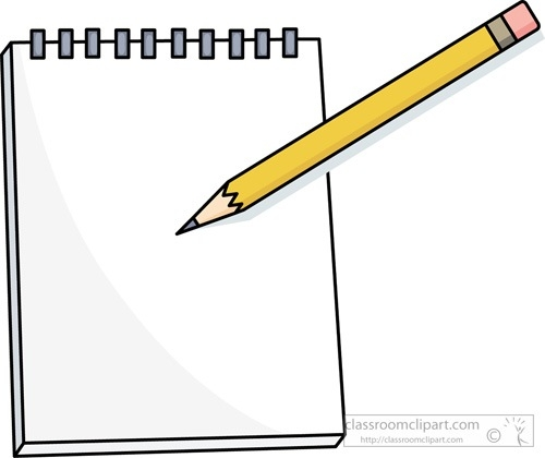 Notebook and pencil clipart vector royalty free download Pencil Clipart Notepad – Pencil And In Color Pencil Clipart Notepad ... vector royalty free download