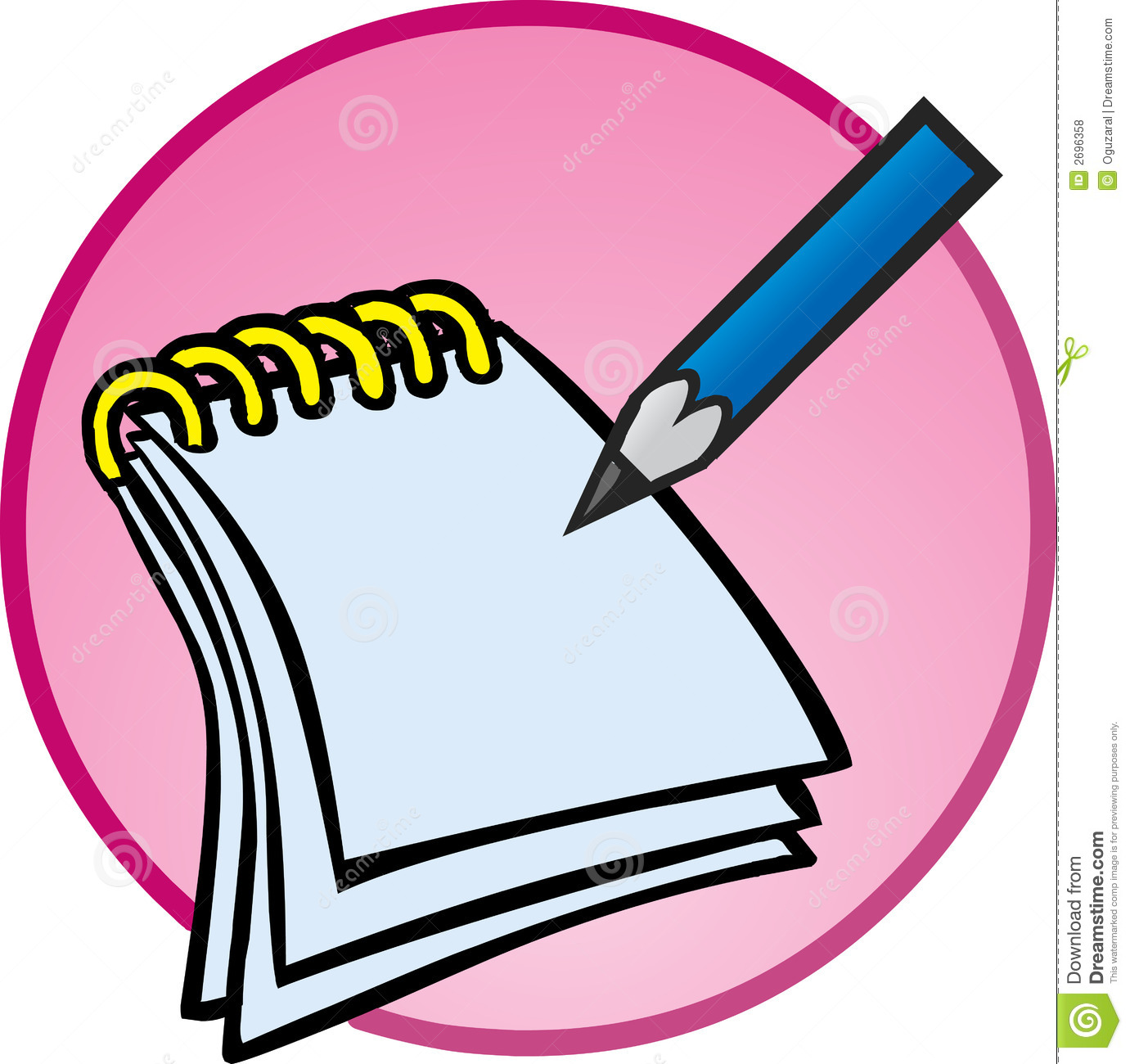 Notepads clipart
