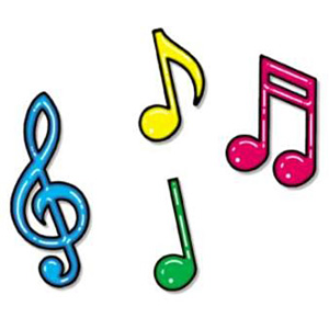 Clipart notes jpg library Music Notes Clipart Colorful   Clipart Panda - Free Clipart Images jpg library