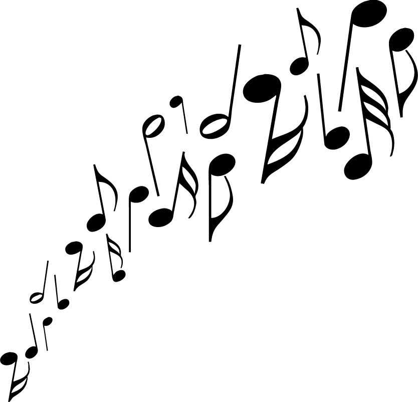 Clipart notes clip free download Free clipart of winter holiday musical notes images - ClipartFest clip free download