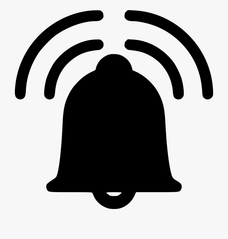 Clipart notification bell clipart library download Alarm Bell Ringing Comments - Icon Notification Bell Png #1454092 ... clipart library download