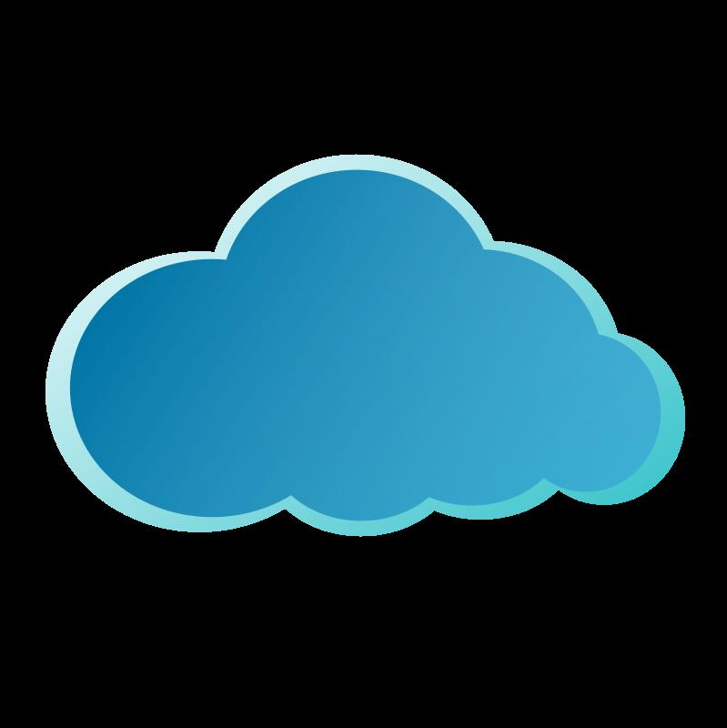 Clipart nube jpg freeuse Free Clipart: Nube Azul | jesusjvc jpg freeuse