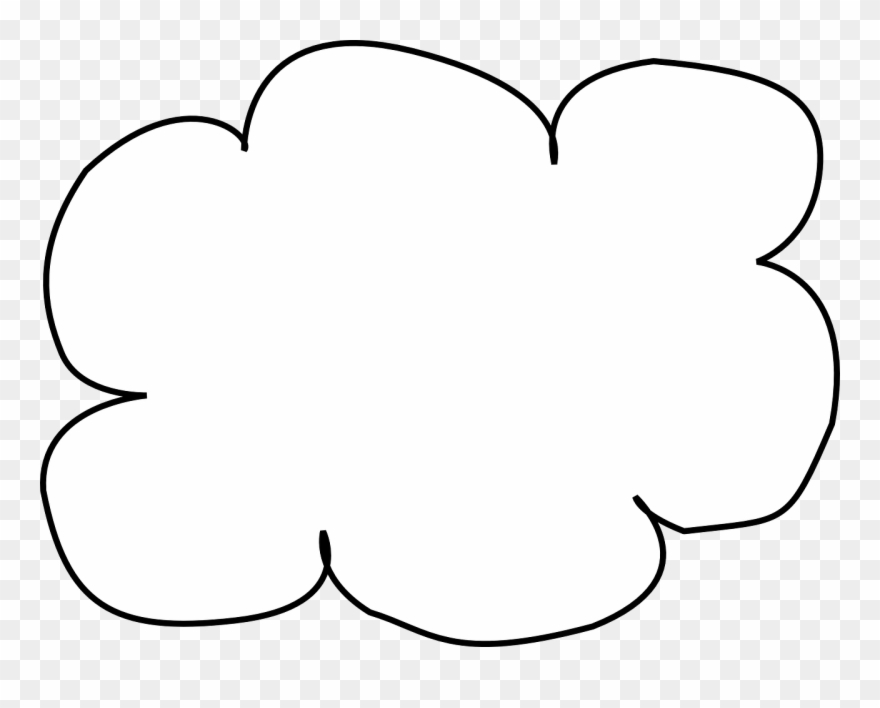 Clipart nube graphic royalty free Visio Internet Cloud - Nubes Para Pintar Png Clipart (#287372 ... graphic royalty free