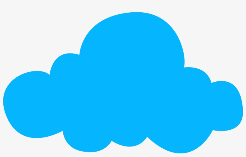 Clipart nube svg library Clipart Resolution 3000*1918 - Nube Azul Dibujo Png - Free ... svg library