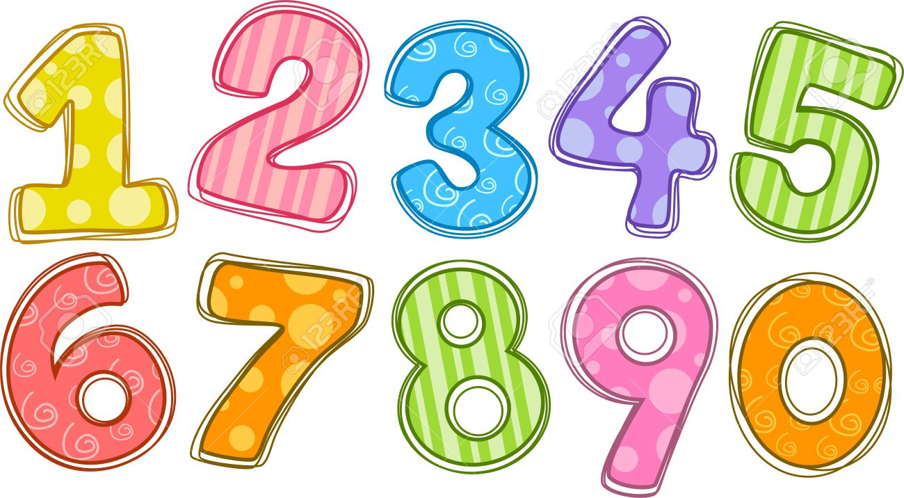 Clipart number 1 10 banner library stock Numbers 1 10 clipart - ClipartFest banner library stock