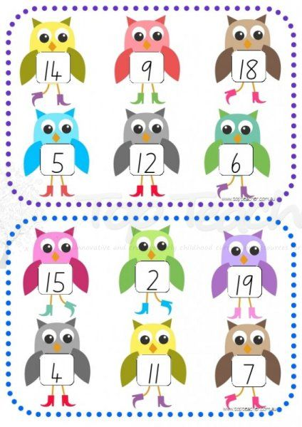 Clipart number 1 owl clip art download Number Bingo Game Clip Art – Clipart Free Download clip art download