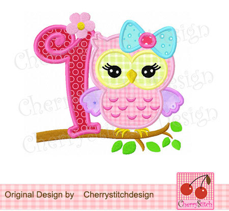 Clipart number 1 owl svg freeuse 10 Best images about embroidery on Pinterest | Applique designs ... svg freeuse