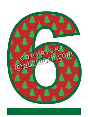 Clipart number 6 christmas banner royalty free stock Clipart number 6 christmas - ClipartFest banner royalty free stock