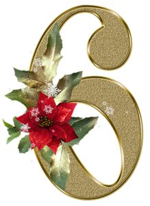 Clipart number 6 christmas png royalty free stock Clipart number 6 christmas - ClipartFest png royalty free stock