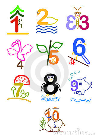 Clipart numbers 1 10 picture transparent download Number 1 to 10 clipart - ClipartFest picture transparent download