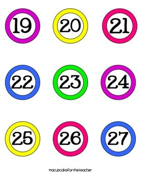 Clipart numbers 1 100 graphic free download 17 Best images about Number/Counting Cards on Pinterest | Pocket ... graphic free download