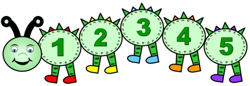 Clipart numbers 1 5 transparent stock Clip Art Numbers 1-5 Clipart - Clipart Kid transparent stock