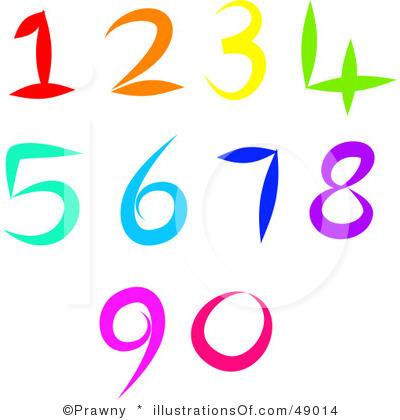 Clipart numbers 1 5. Clip art panda free