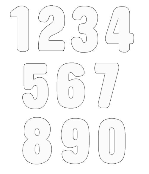 Clipart numbers picture library Clip art numbers 1 clipart - Clipartix picture library