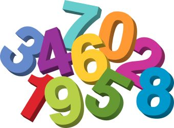 Clipart numbers transparent Numbers Clipart 1 10 | Clipart Panda - Free Clipart Images transparent