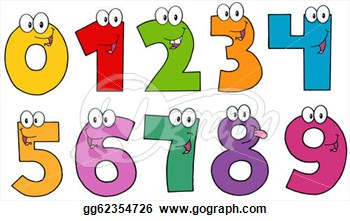 Clipart numbers picture library library Numbers Clip Art & Numbers Clip Art Clip Art Images - ClipartALL.com picture library library
