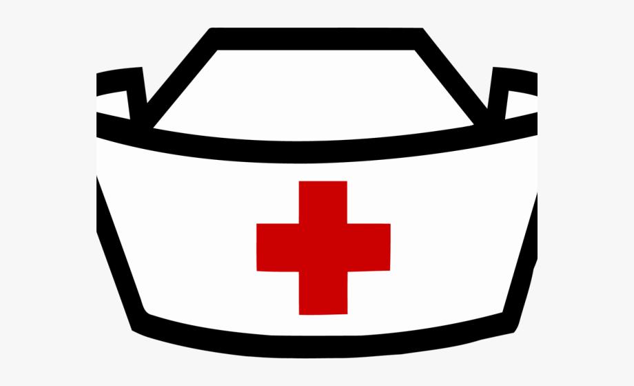 Clipart nurses transparent Graphic Black And White Stock Nurses Hat Clipart - Clip Art Nurse ... transparent