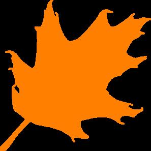 Clipart oak leaf transparent orange png transparent library Orange Oak Leaf clip art | Clipart Panda - Free Clipart Images png transparent library