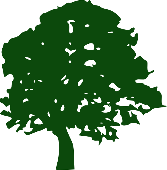 Oak tree clipart free graphic transparent Oak Tree Clip Art at Clker.com - vector clip art online, royalty ... graphic transparent