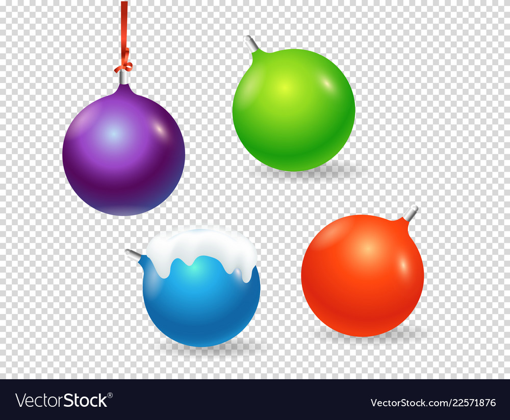 Clipart objects image download Christmas baubles clipart objects isolated on image download
