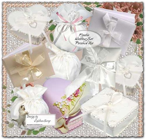 Clipart objects for photoshop picture black and white Transparent wedding objects for Photoshop picture black and white