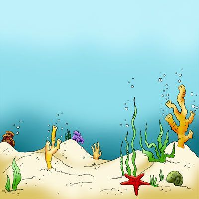 Clipart ocean floor svg free library Make It Crafty Seaweed Sea Floor | Misc 2012 | Sea floor, Background ... svg free library
