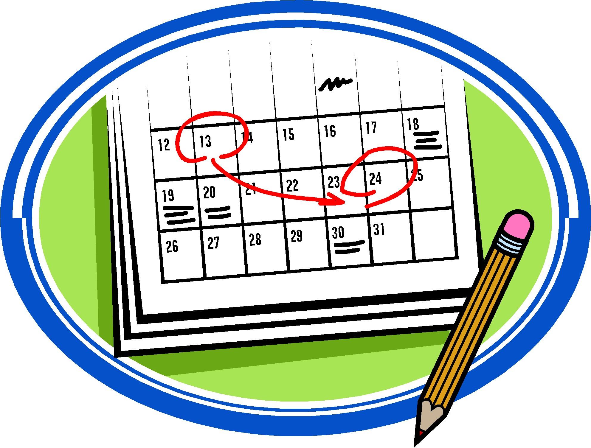 Clipart october calendar png library download Calendar Clipart Clip art of Calendar Clipart #1465 — Clipartwork png library download