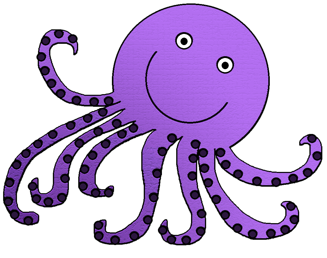 Clipart octopus vector black and white Free Octopus Cliparts, Download Free Clip Art, Free Clip Art on ... vector black and white