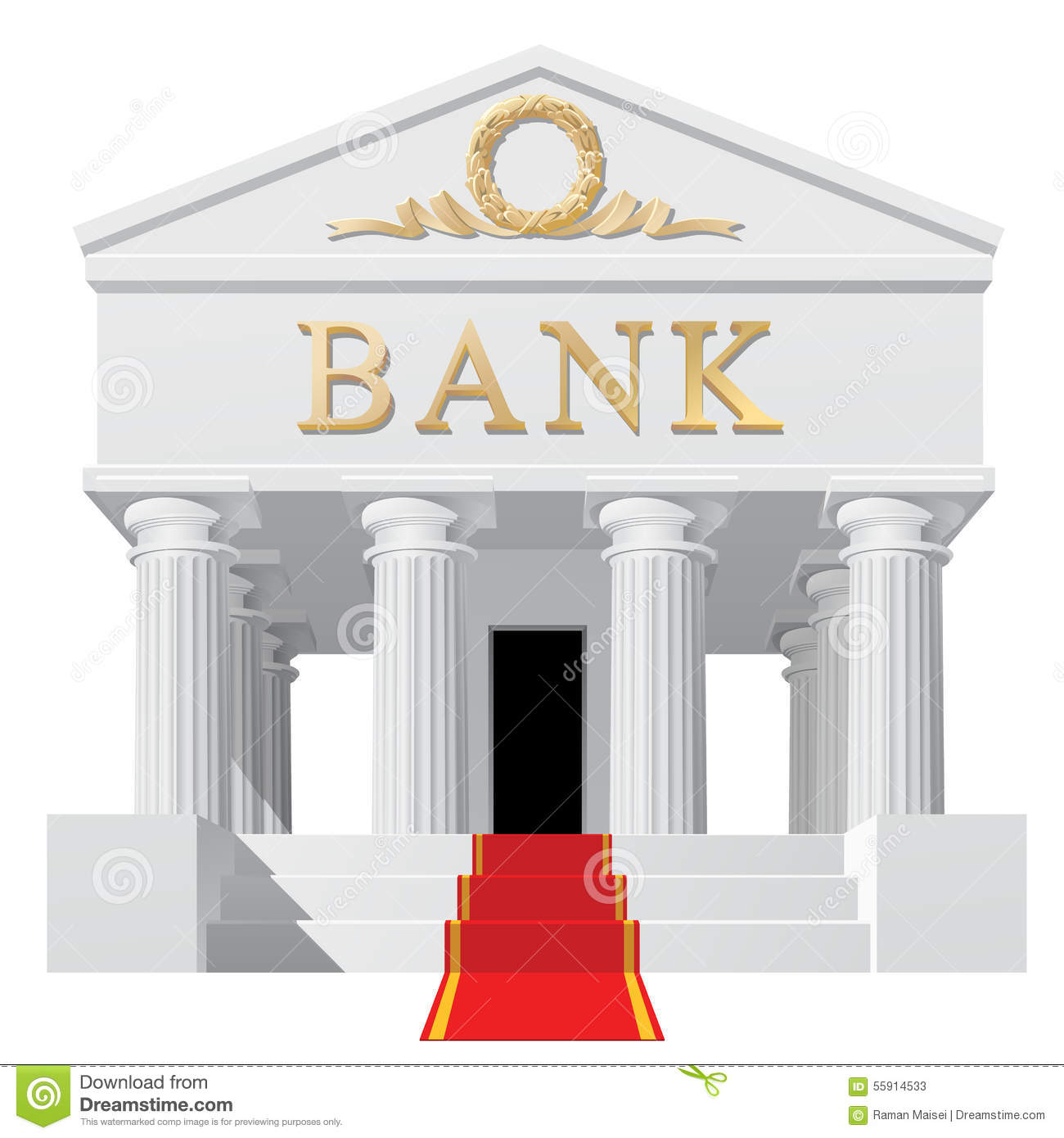 No check clipartfest background. Clipart of a bank