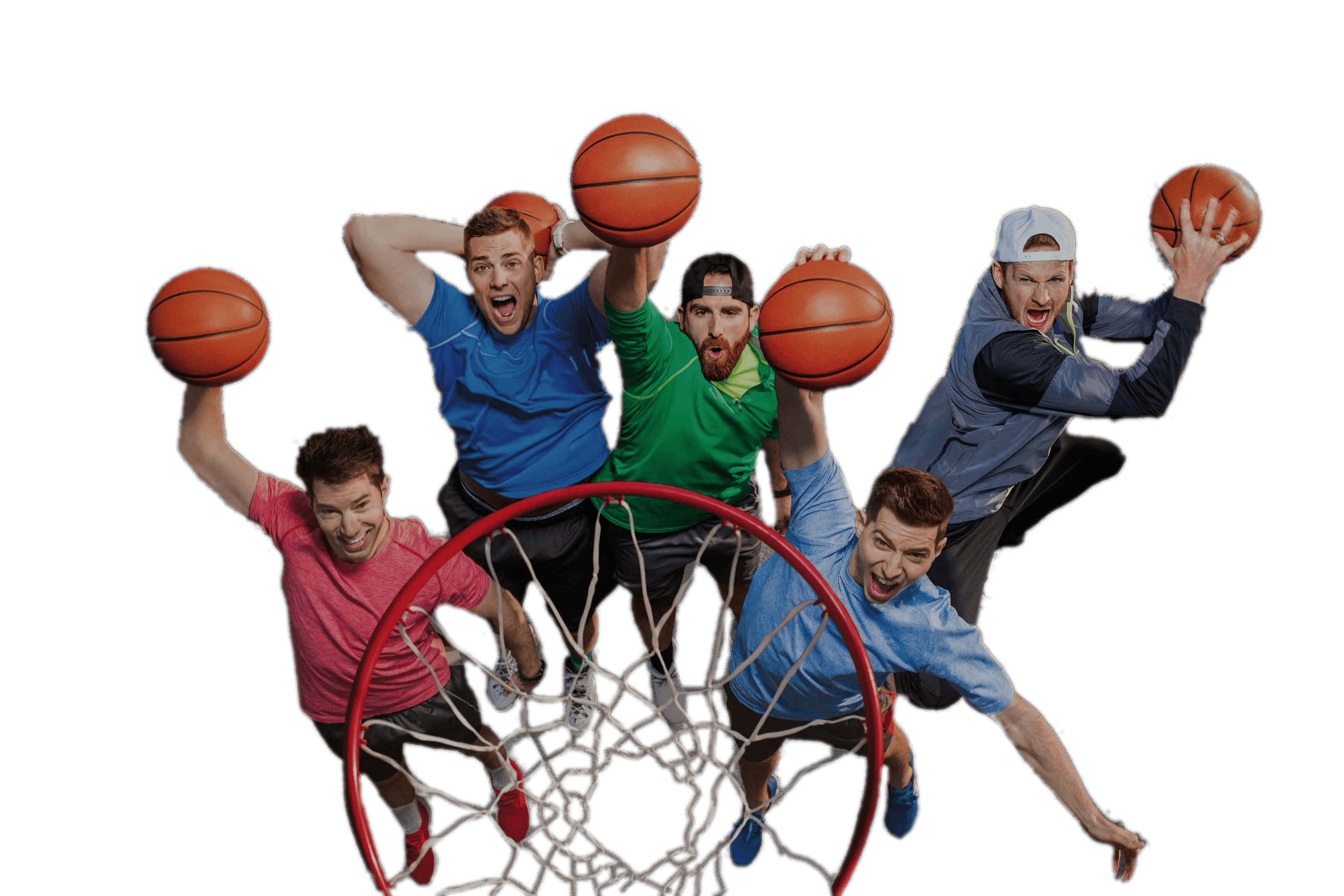 Clipart of a basketball player scoring graphic freeuse download Dude Perfect Basketball PNG - PHOTOS PNG graphic freeuse download