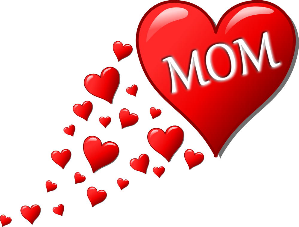 Clipart of a beating heart clip black and white download I Love My Mommy Clipart - Clipart Kid   Mother's day   Pinterest clip black and white download