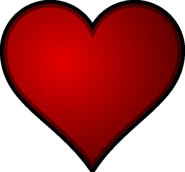 Clipart of a beating heart clip stock Heart 9 Clip Art at Clker.com - vector clip art online, royalty free ... clip stock