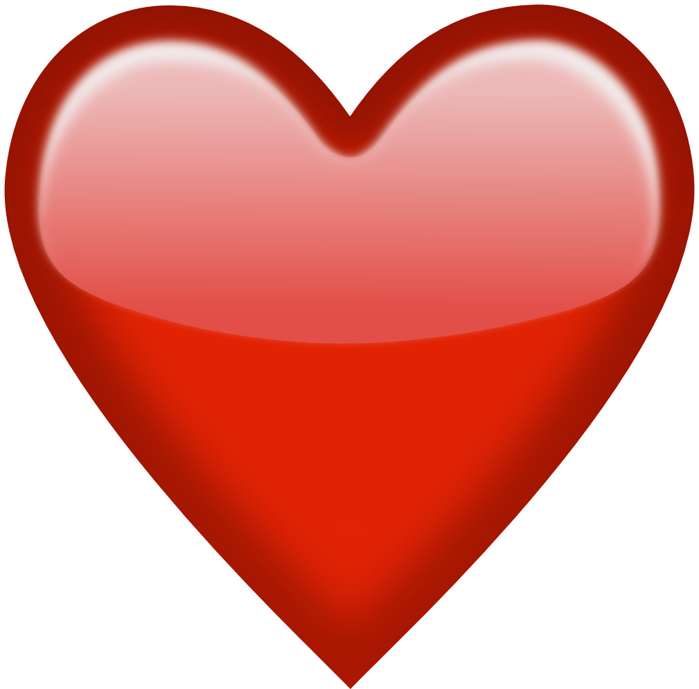 Clipart of red heart jpg library Emoji Red Heart Png Clipart jpg library