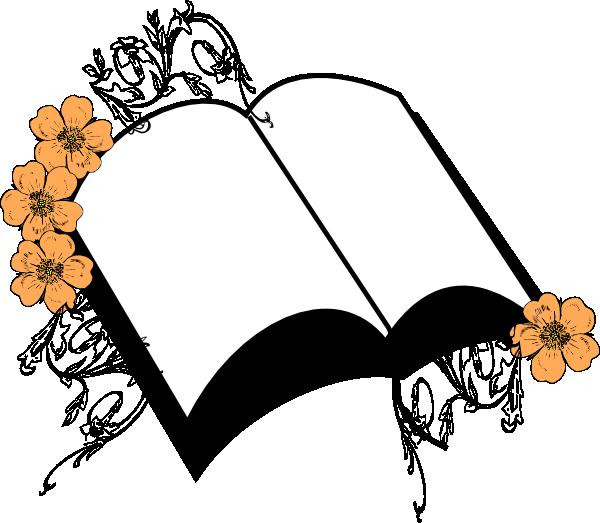 Peach flower clipart clip art Wedding Peach Flower Bible Clip Art at Clker.com - vector clip art ... clip art