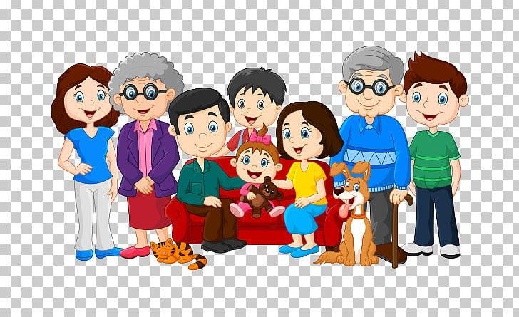 Clipart of a big family svg transparent download Family PNG, Clipart, Art, Big Family, Boy, Cartoon, Child Free PNG ... svg transparent download