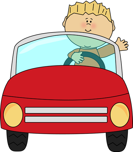 Clipart of a black guy diving a car vector freeuse stock Boy driving a car and waving.   Transportation Clip Art   Clip art ... vector freeuse stock