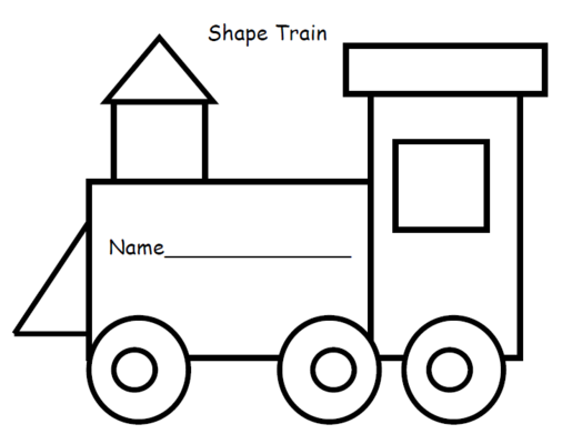 Clipart of a black train for preschoolers clip art freeuse download 66 views   PaperER   Train template, Train crafts, Trains preschool clip art freeuse download