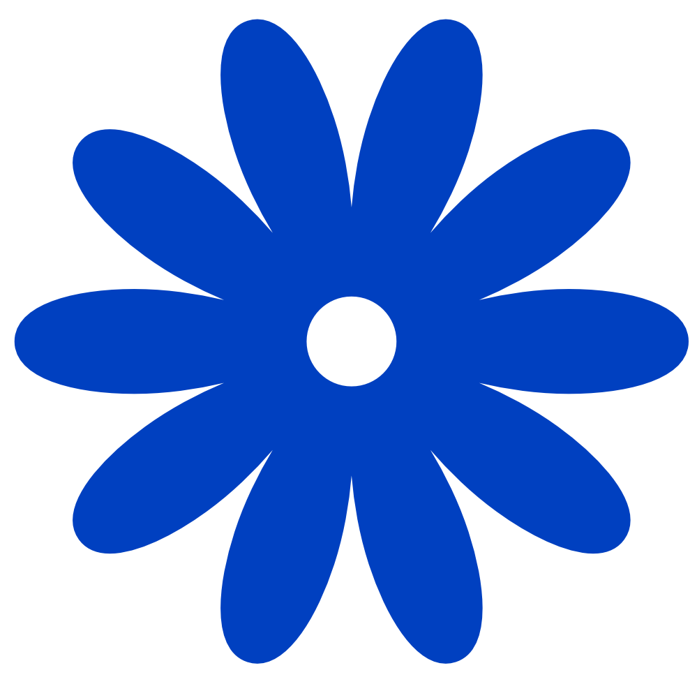 Clipart of a blue flower to print for free png library download Free Blue Flower Clip, Download Free Clip Art, Free Clip Art on ... png library download