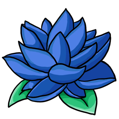 Clipart of a blue flower to print for free vector library Free Blue Flower Clip Art | Clipart Panda - Free Clipart Images vector library
