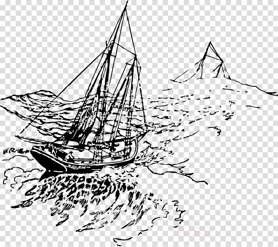 Clipart of a boat in a storm png transparent library Boat Cartoon clipart - Drawing, Ship, Sailboat, transparent clip art png transparent library