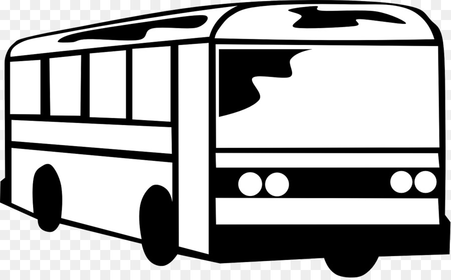 Clipart of a bus black and white banner royalty free stock School Black And White clipart - Bus, Transport, Car, transparent ... banner royalty free stock
