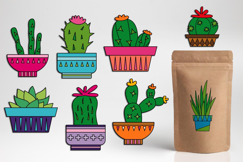 Clipart of a cactua svg Cacti clipart cactus plant graphic illustrations svg