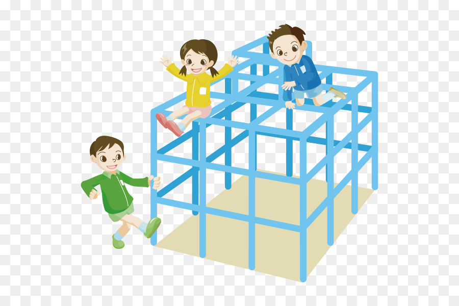 Clipart of a child on jungle gym clipart black and white library Playground Cartoon clipart - Child, transparent clip art clipart black and white library